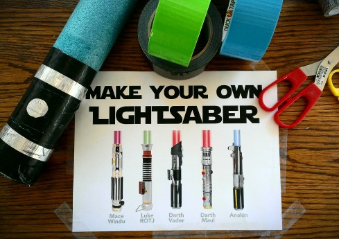 Welcome to Blake Dean's lightsaber station!